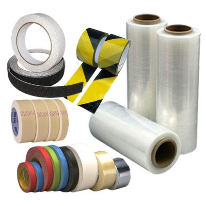 pásky tesniace, lepiace, maskovacie, baliace